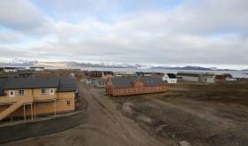 Ny-Ålesund, verdens nordligste bosetting. Foto: Trond Viken, Nærings- og fiskeridepartementet.
