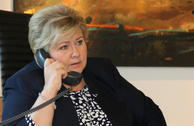 Prime Minister Erna Solberg will be keeping close tabs on how the budget negotiations are proceeding. PHOTO: Statsministerens kontor
