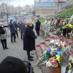 Prime Minister Erna Solberg was in Ukraine last week on a visit that has had unexpected consequences. PHOTO: Statsministerens kontor