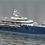 Kleven building new luxury yacht