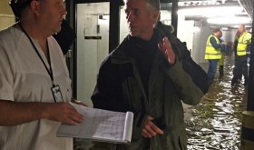 Hospital officials went into crisis mode at the hospital in Kristiansand Sunday night, after its entire lower level was flooded following a day of heavy rain. PHOTO: Sørlandet Sykehus