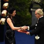 Norway's winners meet 'sweet' king