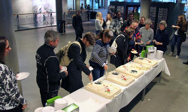 NTNU Nobel cake celebration