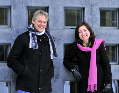 Edvard and May-Britt Moser were ready to receive Norway's first Nobel Prize in medicine, at formal ceremonies in Stockholm on Wednesday. PHOTO: NTNU/Kavli Institute/Ned Alley