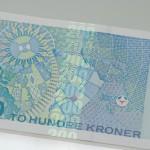 200 krone bill