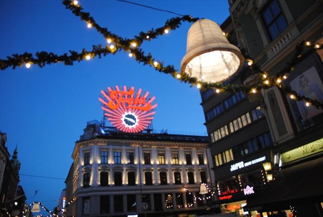 Jul on Karl Johans Gate