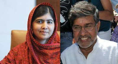 Nobel Peace Prize winners Malala Yousafzai (left) and Kailash Satyarthi are in Oslo for a week of ceremony and special events. PHOTO: Nobel Peace Center