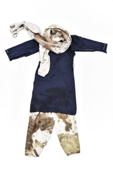 The blood-stained uniform worn by Nobel Peace Prize winner Malala Yousafzai on the day she was shot by the Taliban will go on display at the Nobel Peace Center in Oslo next week. PHOTO: Nobel Peace Center
