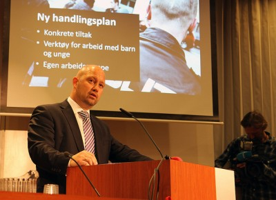 Justice Minister Anders Anundsen is staying mum about the investigation into reported mobile phone surveillance that's illegal. PHOTO: Justisdepartementet