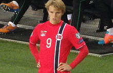 Not even an appearance by Norway's football prodigy attracted crowds. PHOTO: Wikipedia