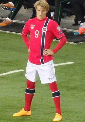 Teenage football sensations Martin Ødegaard has now charmed audiences off the field as well. PHOTO: Wikipedia