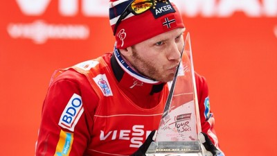 Martin Johnsrud Sundby, also of Norway, confirming Norwegian domination on the World Cup circuit. PHOTO: International Ski Federation