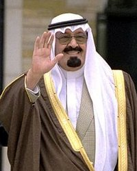 King Abdullah of Saudi Arabia died during the night, at an age believed to be around 90. PHOTO: Wikipedia
