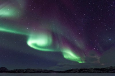 The Northern Lights often put on spectacular displays, like here in Finnmark, and now have been seen several times recently in southern Norway as well. PHOTO: Forsvaret/Kristian Kapelrud
