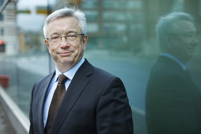 Labour Party veteran Karl-Eirik Schjøtt-Pedersen, a former government minister, is now charged with boosting oil's image and lobbying on the industry's behalf. PHOTO: Norsk olje og gass/Bård Gudim