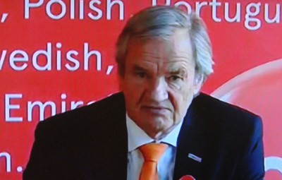 "Bjørn Kjos, the embattled founder and chief executive of Norwegian Air, has won far more public  sympathy than the airline's striking pilots, according to a VG survey. After 11 ""terrible"" days, Kjos announced the strike was ""finally"" over. PHOTO: NRK screen grab/newsinenglish.no"