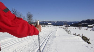 Skiing in the mountains of Norway remains a favourite Easter pasttime for hundreds of thousands of Norwegians, but many are also staying in the cities or indoors. PHOTO: newsinenglish.no/Nina Berglund