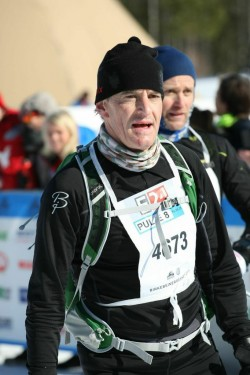 """Former Foreign Minister Jonas Gahr Støre, who now leads the opposition in Parliament, was proud to call himself a """"birkebeiner"""" after taking part for the first time. PHOTO: birken.no"""