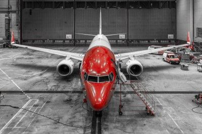 Most Norwegian Air aircraft in Scandinavia remained parked on Sunday, as a strike by pilots entered its second week. PHOTO: Norwegian Air