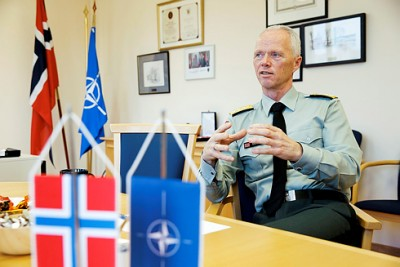 """Lt Gen Robert Mood is Norway's top military envoy to NATO, and has some very clear thoughts on how relations with Russia have """"fundamentally changed"""" since its annexation of Crimea last year. PHOTO: Forsvaret/Torbjørn Kjosvold"""
