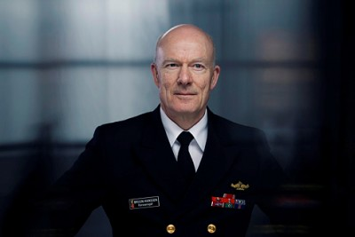Admiral and Defense Chief Haakon Bruun-Hansen apologized at a parliamentary inquiry  on Thursday for the sale of surplus military vessels to Nigerian paramilitary interests. PHOTO: Forsvaret
