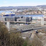 "Important commercial centers in Oslo and west to Bærum and Asker are seeing more vacant office buildings and a decline in leasing rates. That's a ""good indicator"" of an economic slowdown, says one economist, while top state officials still aren't overly concerned. PHOTO: newsinenglish.no"