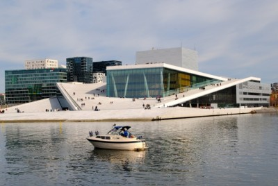 Oslo's Opera House, which opened in April 2008, has become a major landmark and popular tourist attraction. Its costs are high, though, and pension obligations are threatening to strangle productions. Now the opera is also undergoing major personnel changes at the top. PHOTO: newsinenglish.no