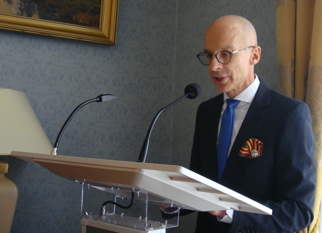 Russian Ambassador Vyacheslav Pavlovskiy
