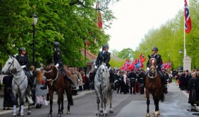 Horses, police, 17th of May
