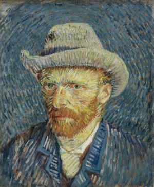 """Vincent van Gogh's self-portrait will be among the works on display at the new """"VanGogh+Munch"""" exhibit opening this weekend at the Munch Museum in Oslo. PHOTO: Munch Museet"""