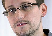 Edward Snowden was back in the news this week in Norway, where he has a lot of support. PHOTO: Wikipedia Commons