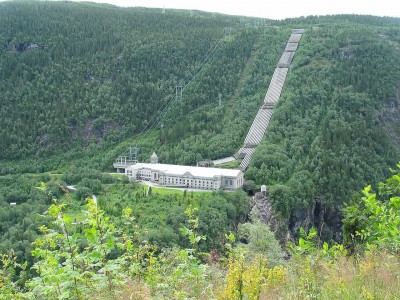 The Vemork power station in Telemark has won a spot on the UNESCO World Heritage list. PHOTO: Wikipedia