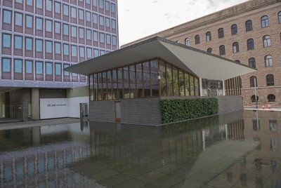 The new 22 July Center is opening within the bombed shell of the former Office of the Prime Minister and Justice Ministry in downtown Oslo. PHOTO: newsinenglish.no