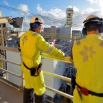 """Lots of oil industry workers are currently having to look for new work, and those who come from outside Europe often don't qualify for unemployment benefits in the meantime. Some are forced to leave the country, and the engineers' union NITO calls that a """"lose-lose situation."""" PHOTO: Statoil"""