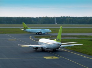 An airBaltic crew, stopped in an alcohol control at Oslo's main airport earlier this month, is on trial this week. PHOTO: airBaltic