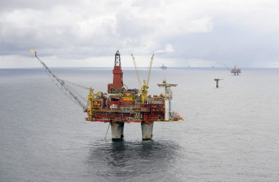 The Statfjord oil field in the Norwegian sector of the North Sea is one of Statoil's oldest. PHOTO: Statoil/Harald Pettersen