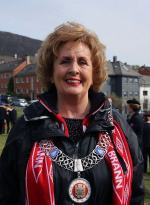 Bergen Mayor Trude Drevland hasn't had much reason to smile lately, and on Monday she went on unpaid leave pending a new police investigation over alleged abuse of office. PHOTO: Wikipedia Commons/Nina Aldin Thune