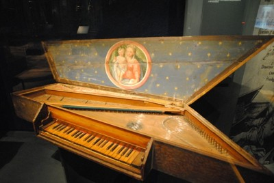 Rare, historic instruments like this were among the vast collections at the Ringve Museum, which suffered a fire on Monday. It remained unclear which treasures were destroyed. PHOTO: newsinenglish.no