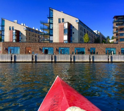 Housing prices continue to rise all over Norway except in Rogaland county, the heart of Norway's suddenly hard-hit oil industry. These condominiums in Lysaker, just outside Oslo, can sell for as much as NOK 12 million (USD 1.5 million) or even more.PHOTO: newsinenglish.no