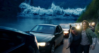 """The new disaster film """"The Wave"""" is an unusually realistic portrayal of how a pristine Norwegian fjord can be the site of a catastrophe. PHOTO: Norsk Film Institutt"""