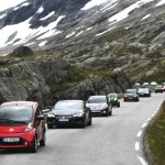 Electric cars have become enormously popular in Norway, not least the Tesla Model S, largely because of all the tax incentives they've had. The Progress Party still supports tax breaks for low- and zero-emission vehicles, but is backpedaling on any plan to ban sales of fuel-driven cars from 2025. PHOTO: Norsk elbil forening