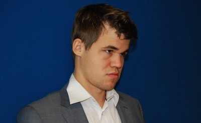 Usually a master of cool, chess champ Magnus Carlsen regrets having a temper tantrum after losing one of his three world championship titles. PHOTO: newsinenglish.no/Nina Berglund
