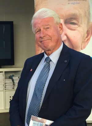 Jensen's predecessor as party leader, Carl I Hagen, was also being criticized this week for his tough remarks against refugees during the campaing. One professor thinks it's the last time the party will give him a nationwide mouthpiece, because of the damage local politicians think he caused. PHOTO: newsinenglish.no