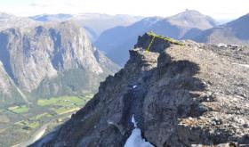 Mountain threatens to crash down again