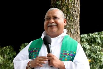 Padre Melo of Honduras won the Rafto Prize on Thursday. PHOTO: Joksan Flores/Radio Progreso/Rafto Prize