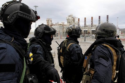Earlier anti-terror exercises have also involved power plants and facilities within the oil industry. PHOTO: Forsvaret/Torbjørn Kjosvold