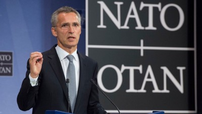 NATO's Norwegian secretary general, Jens Stoltenberg, will need to decide how NATO might contribute to the refugee crisis, while many NATO members including Norway are skeptical towards NATO getting involved. PHOTO: NATO