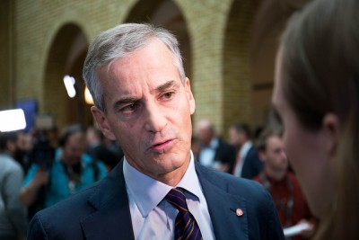 Labour Party and opposition leader in Parliament Jonas Gahr Støre admits the new public opinion poll figures were bad for his party. PHOTO: Arbeiderpartiet
