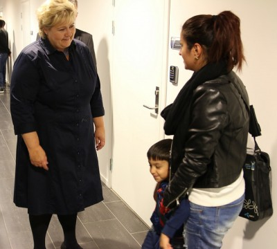Prime Minister Erna Solberg has had a tough year, dominated by the refugee crisis, terror threats and hostage crises and the downturn in the Norwegian economy. PHOTO: Statsministerens kontor