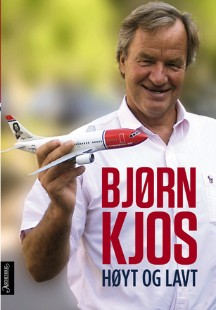 Norwegian Air's founder and CEO, Bjørn Kjos, is out with a new book detailing the highs and lows of his life and launch of the airline. PHOTO: Aschehoug